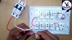 House Wiring In Board At Home