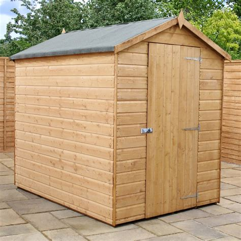 7 x 5 Premier Tongue and Groove Apex Shed With Single Door