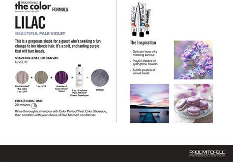 337 Best Paul Mitchell Color & Formulas Images On