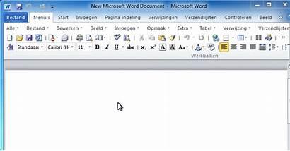 Dutch Office Lint Menu Word Het Microsoft