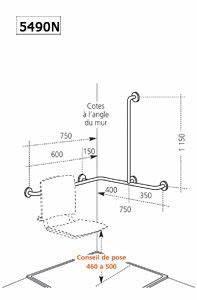 Siege Douche Pmr : radiateur s che serviettes pmr accessoires si ge de ~ Edinachiropracticcenter.com Idées de Décoration