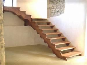 Escalier Extérieur En Bois : escalier clara bonnal escaliers en bois massif sur ~ Dailycaller-alerts.com Idées de Décoration