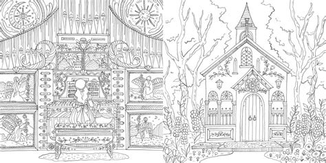 eriy romantic country   tale coloring book