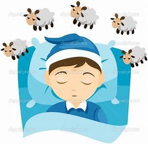 Kid Sleep Cartoon
