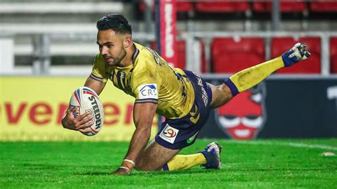 Bevan French: Wigan full-back wins 2020 Rugby League ...
