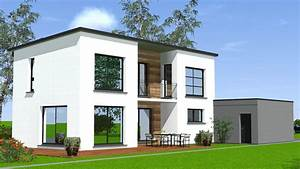 Maison Moderne Toit Plat : construction maison toit plat maisons begimaisons begi ~ Nature-et-papiers.com Idées de Décoration
