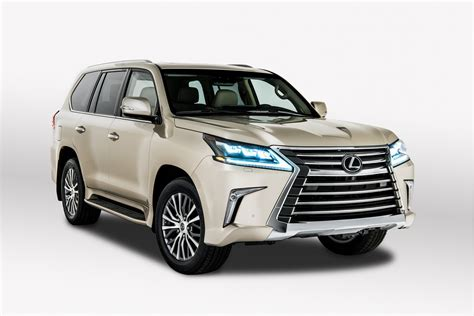 2018 Lexus Lx Debuts With 5-seat Option In Los Angeles