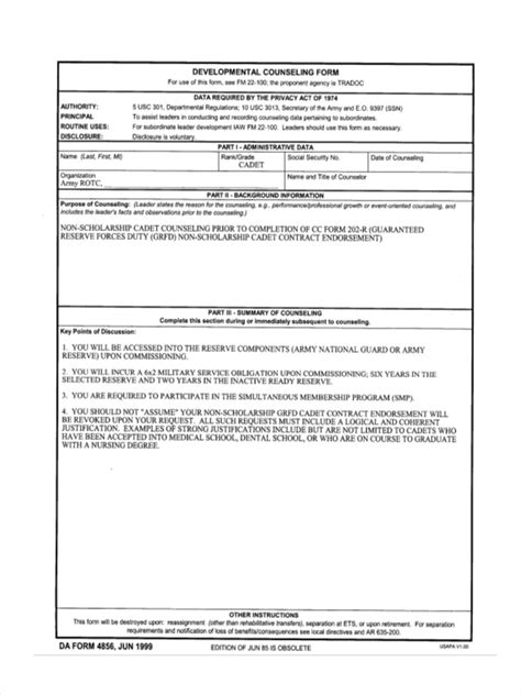 Initial Counseling Template by 5 Blank Counseling Forms Free Sle Exle Format