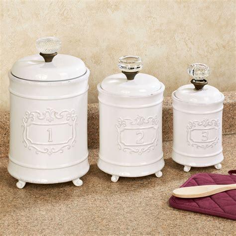 white ceramic kitchen 3 piece white ceramic kitchen canister set new home