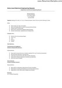 resume template engineering entry level electrical engineering resume list sales engineering lewesmr