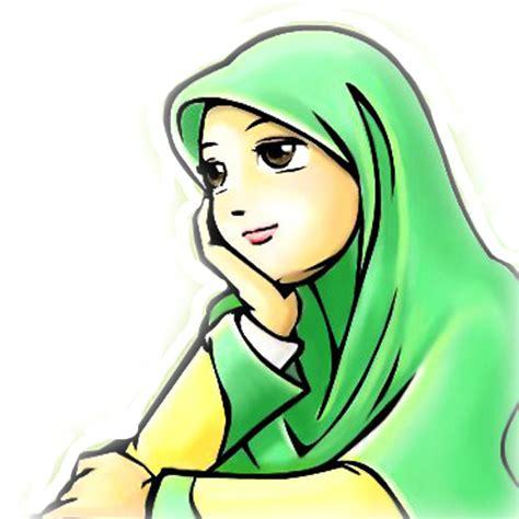 Hubungi saya di instagram : 22+ Keren Abis Gambar Animasi Muslimah Png