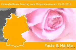 Märkte In Thüringen : verkaufsoffener sonntag am pfingstsonntag feste m rkte ~ Eleganceandgraceweddings.com Haus und Dekorationen