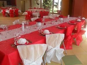 Décoration Mariage Rouge Et Blanc : d coration mariage rouge et blanc la d co de marie ~ Melissatoandfro.com Idées de Décoration