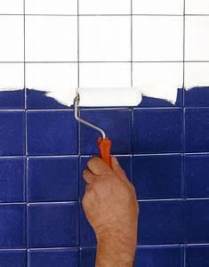 Peinture Salle De Bain Carrelage : peinture pour carrelage de salle de bain ~ Dailycaller-alerts.com Idées de Décoration