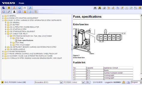volvo prosis parts repair construction equipment