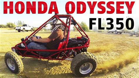 1985 Honda Odyssey Fl350r Mini Buggy Atv First Test Ride
