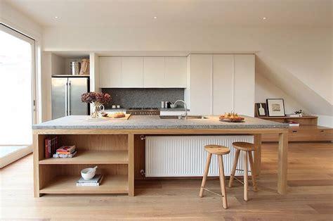 cuisine contemporaine avec ilot central cuisine moderne avec ilot central