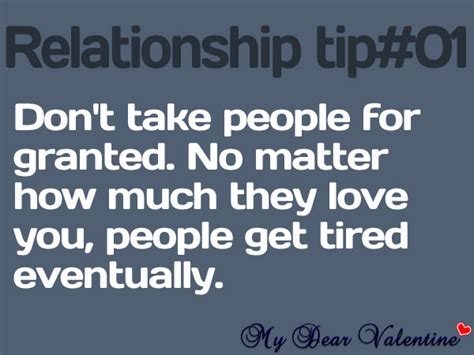 Being Taken For Granted Quotes Relationships