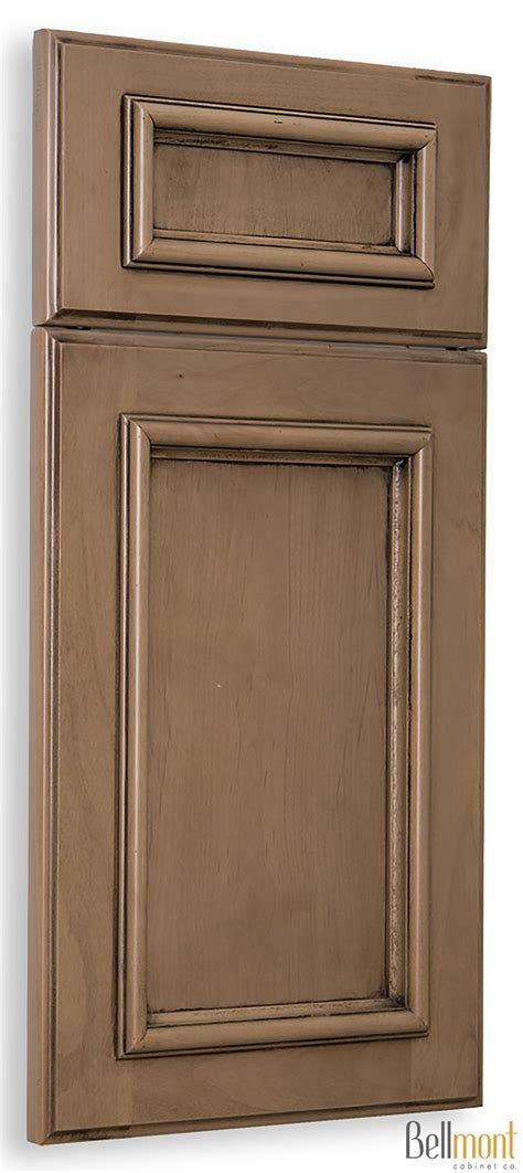 glazed kitchen cabinet doors bellmont cabinet co 1900 series lancaster alder taupe 3835