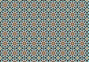 Moroccan Mosaic Pattern Bacground - Download Free Vector