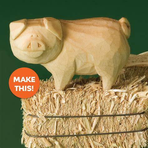 whittle   piggy whittling wood whittling
