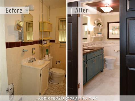 diy bathroom remodel    addicted  decorating