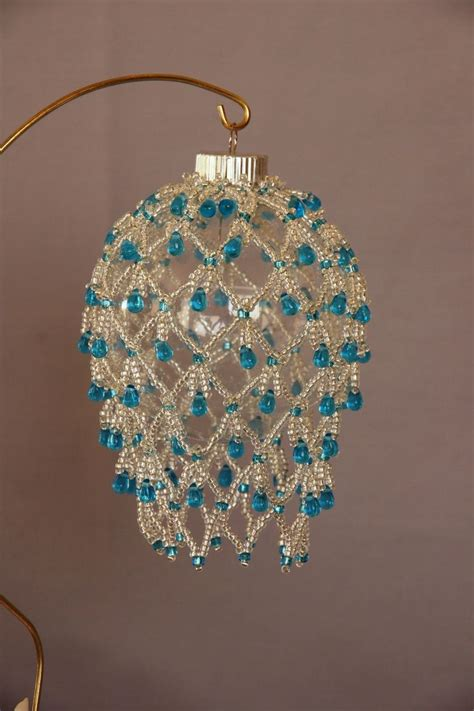 17 best images about beaded christmas ornaments on