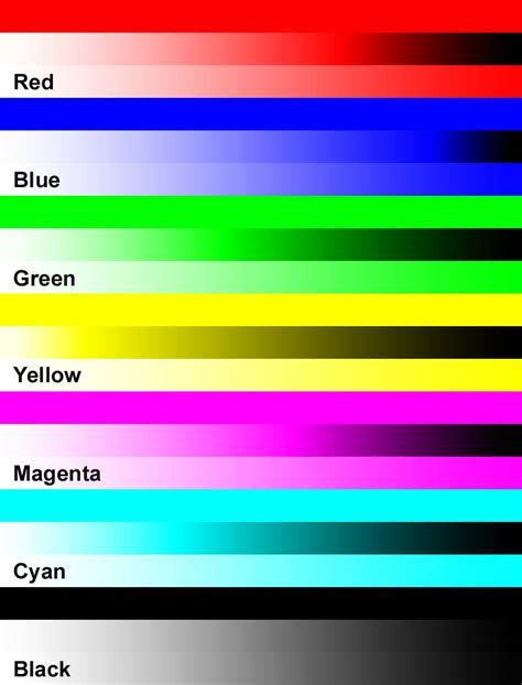 printer color printer colors 9 canon color printer test page