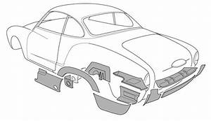 Vw Karmann Ghia Panels
