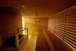 realisations de saunas bains turcs et spas sur mesure With wonderful faire un sauna maison 2 sauna gym effegibi