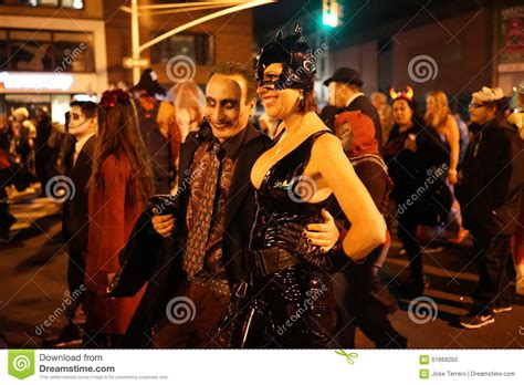 Greenwich Village Halloween Parade 2015 by The 2015 Village Halloween Parade Part 3 61 Editorial