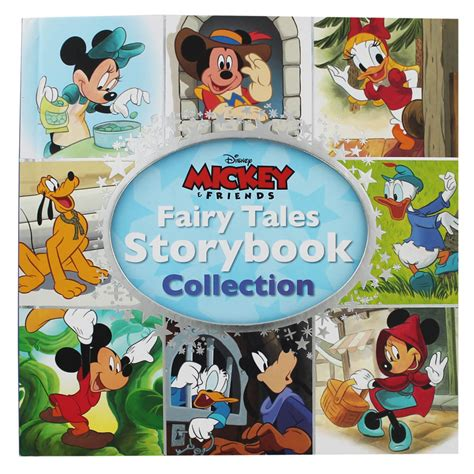 Mickey And Friends Fairy Tales Storybook Collection By