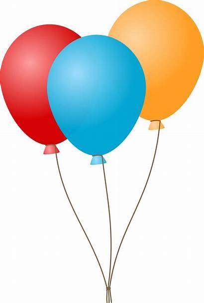 Balloons Cartoon Balloon Celebration Clipart Birthday Clip