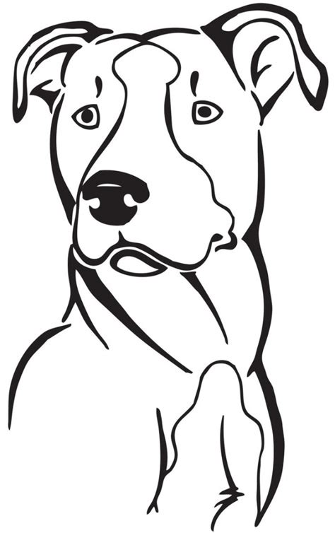 pit clipart black and white black and white pitbull drawing library