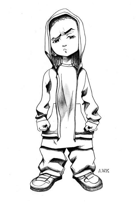 Riley Freeman by ~Loquenz on deviantART | Boondocks | Gangster drawings, Tattoo drawings