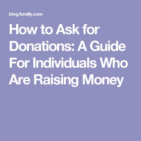If you're interested in learning how to ask for donations via email, in this article we'll cover 9 essential tips to help you get started. How to Ask for Donations: A Guide For Individuals Who Are ...