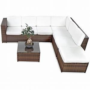 xinro 19tlg xxxl polyrattan gartenmobel lounge sofa With französischer balkon mit rattan sitzgruppe garten günstig