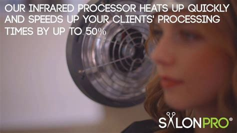 Salonpro Multi-zone+ Infrared Hair Color Processor Dryer