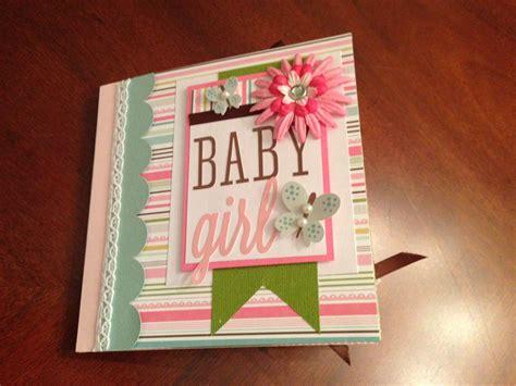 baby girl mini album cover page mini scrapbook albums
