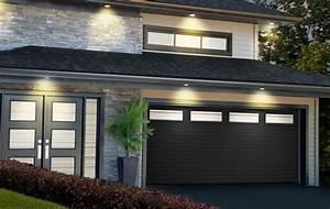 agencement garaga et novatech With porte de garage noir