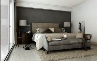 Gray Bedroom Decorating Ideas Grey Brown Taupe Sophisticated Bedroom Interior Design Ideas