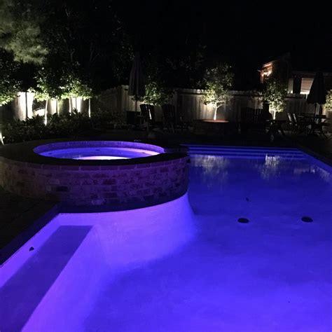 night time pools crystal pools  spas