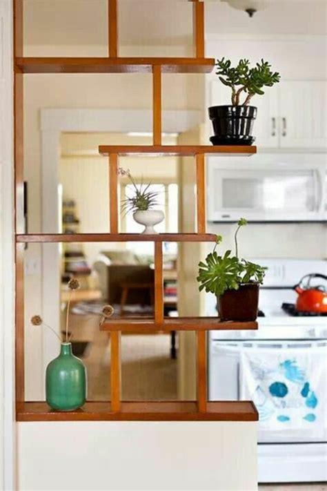 wall divider shelves 30 room divider ideas wood lend a touch fresh 3308