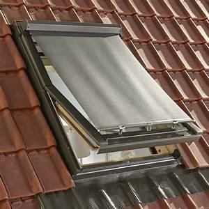 store fenetre de toit pare soleil exterieur noir artens With store exterieur leroy merlin