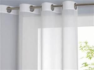 Voilage Grande Largeur Pour Baie Vitree : voilage pour baie vitr e ~ Teatrodelosmanantiales.com Idées de Décoration