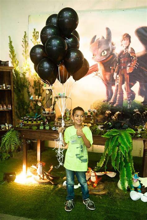 karas party ideas   train  dragon birthday party