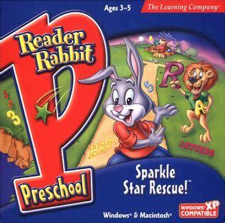 reader rabbit preschool sparkle rescue 360 | Sparkle Star Rescue Cover