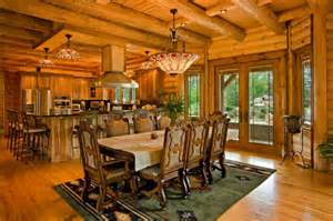 HD wallpapers log homes on lakes