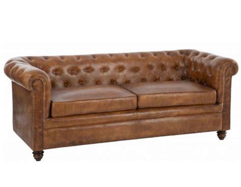 canapé chesterfield microfibre canapé vintage cuir anglais forme chesterfield