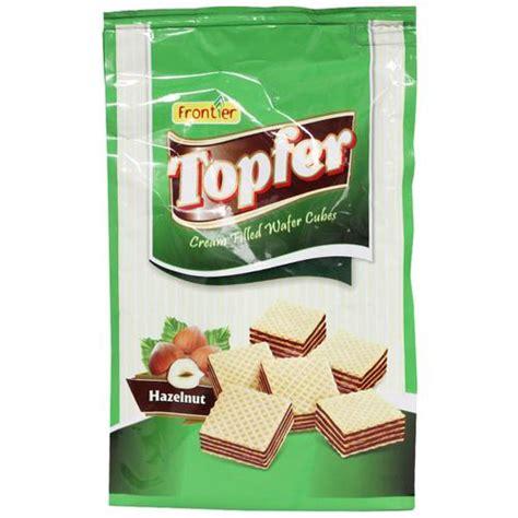 Buy Frontier Topfer Cream Filled Wafer Cubes Hazelnut ...